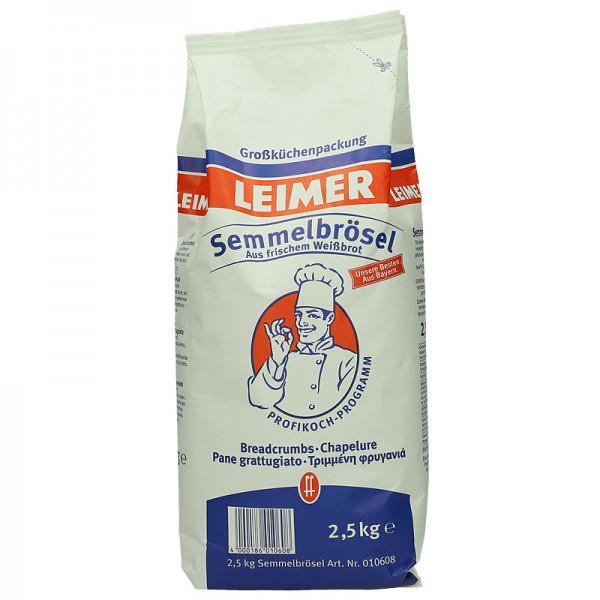 Leimer Semmelbrösel 2,5kg