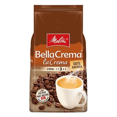 Melitta Bella Crema Café La Crema ganze Bohne 1kg