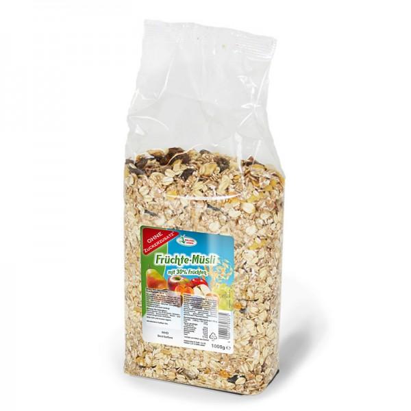 Brüggen Früchte Müsli ohne Zucker 1kg