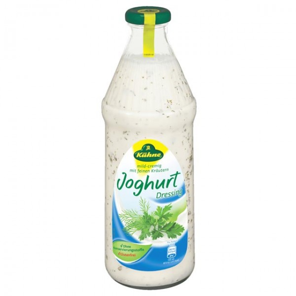 Kühne Salat Dressing Kräuter Joghurt leicht 1L