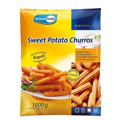 Schne-frost Sweet Potato Churros 1kg