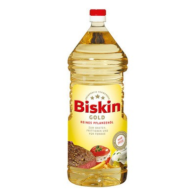 Biskin Gold Reines Pflanzenöl 2L