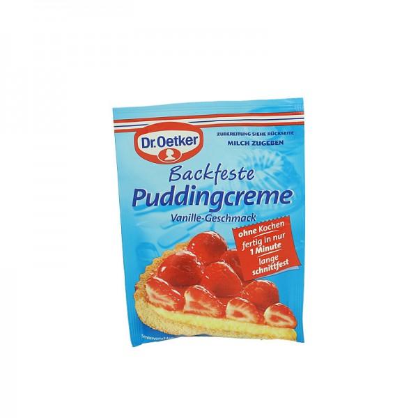 Dr. Oetker Backfeste Puddingcreme Vanille-Geschmack 40g