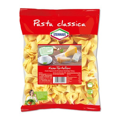 Steinhaus Pasta Classica Tortelloni Formaggio 1kg