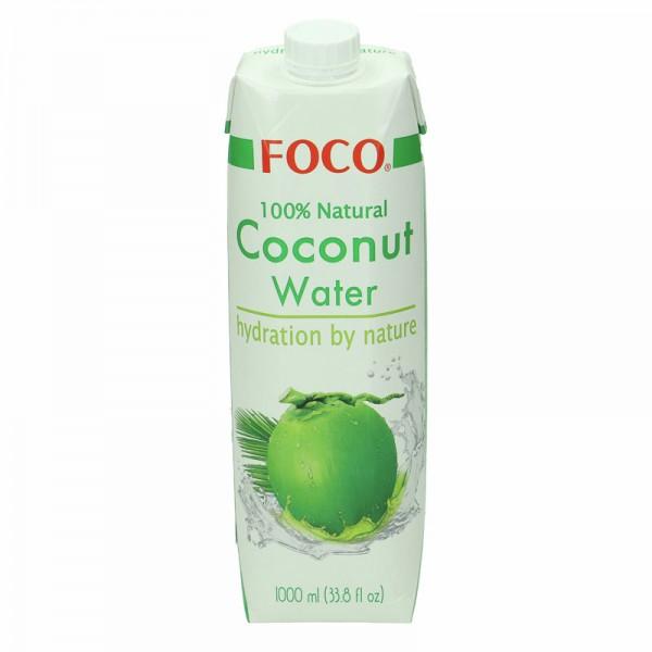 FOCO Kokosnusswasser 1L