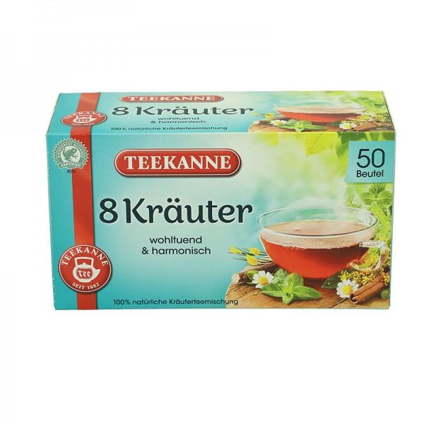 Teekanne Wohltuende 8 Kräuter 100g