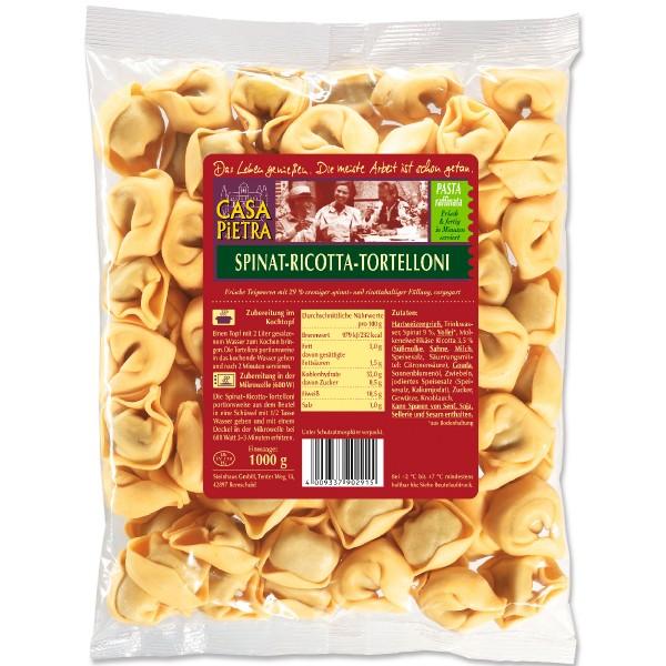 Casa Pietra Spinat-Ricotta Tortelloni 1kg