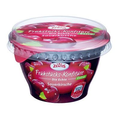 Zentis Frühstücks-Konfitüre Extra Sauerkirsche 200g