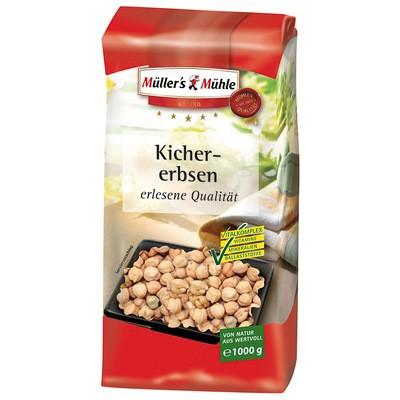 Müller's Mühle Kichererbsen 1kg