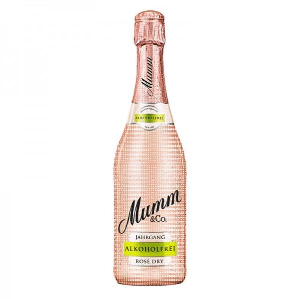 Mumm Jahrgangssekt Rosé Dry Alkoholfrei 0,75L