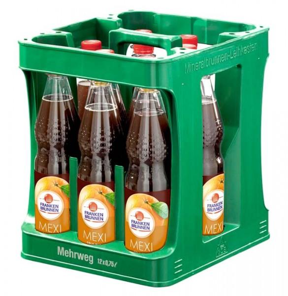 Franken Brunnen Mexi Cola-Mix Limonade, 12 x 0,75L PET