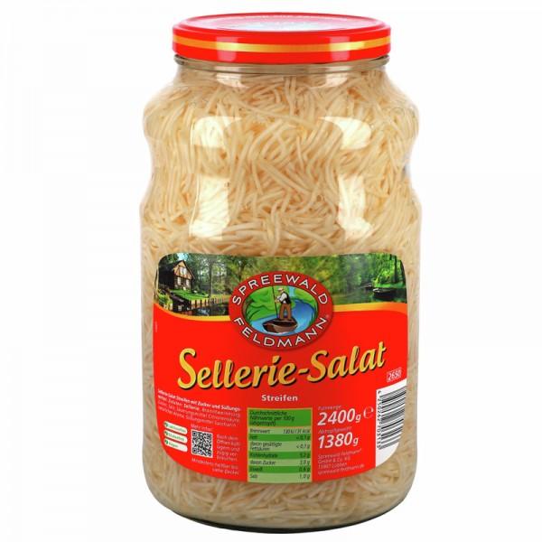 Spreewald Feldmann Sellerie Salat in Streifen 2400g