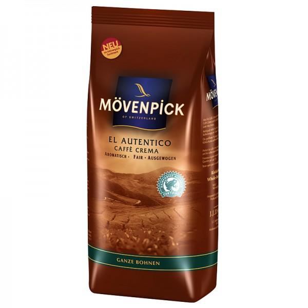 Mövenpick Caffe Crema El Autentico Bohnen 1kg