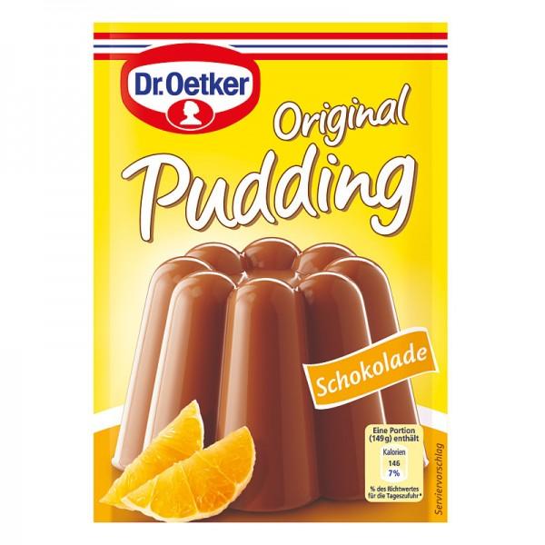 Dr. Oetker Puddingpulver Schokolade 3St