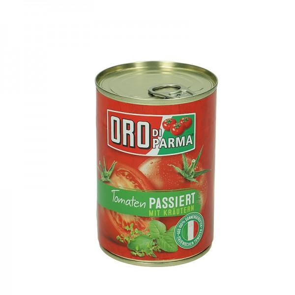 Oro di Parma Passierte Tomaten mit Kräutern 425ml