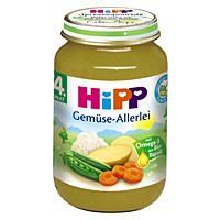 Hipp Gemüse-Allerlei nach dem 4. Monat 190g