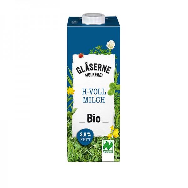 Gläserne Molkerei BIO H-Vollmilch 3,8 % Fett 1L