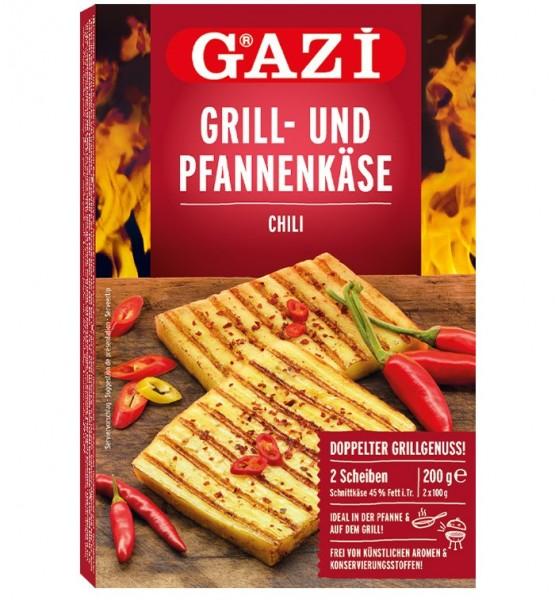 GAZI Grill- und Pfannenkäse Chili 200g