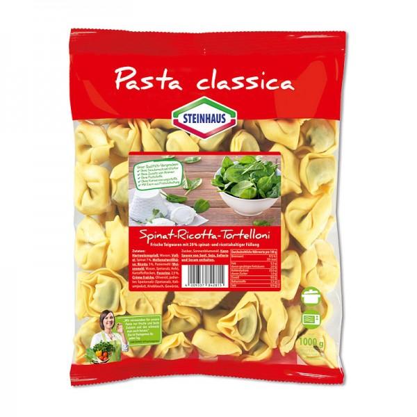 Steinhaus Pasta Classica Tortelloni Spinat-Ricottafüllung 1kg