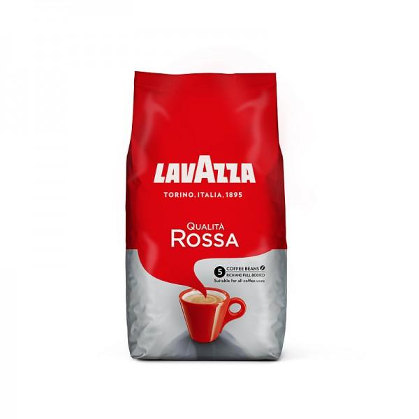 Lavazza Qualità Rossa ganze Bohnen 1kg