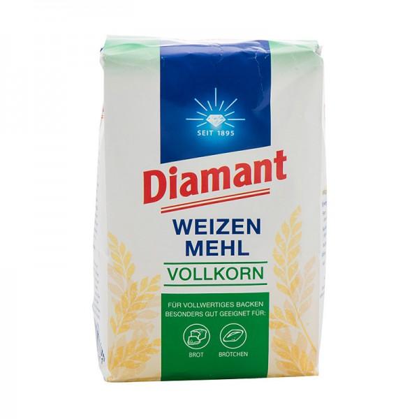 Diamant Weizenmehl Vollkorn 1kg