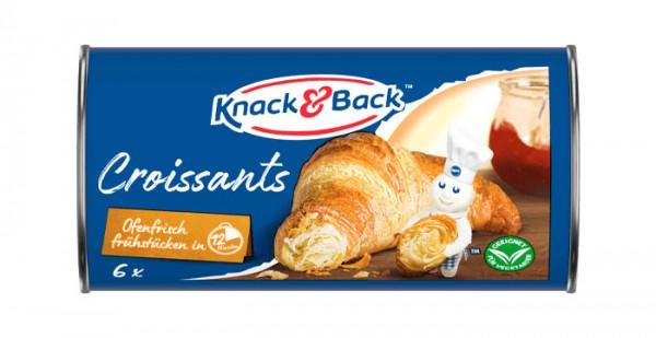 Knack & Back Croissants 250g (6 Stück)