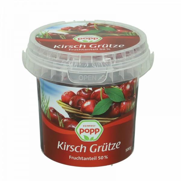 Popp Kirsch Grütze 500g