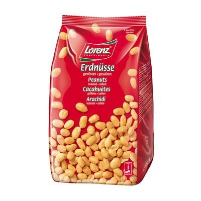 Lorenz Erdnüsse geröstet + gesalzen XL 1kg