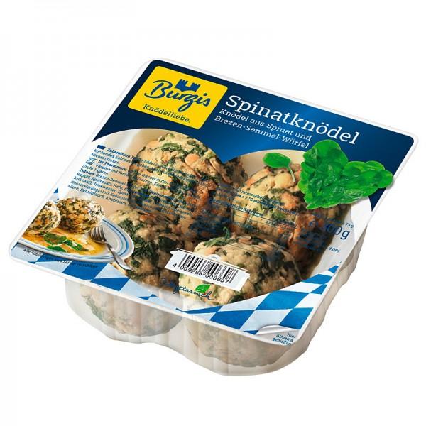 Burgis Spinatknödel aus Spinat und Brezen-Semmel-Würfel 300g