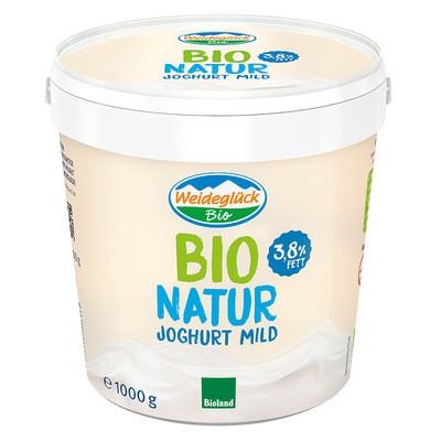 Weideglück Bio Natur Joghurt 1kg