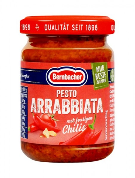 Bernbacher Pesto Arrabbiata 140g