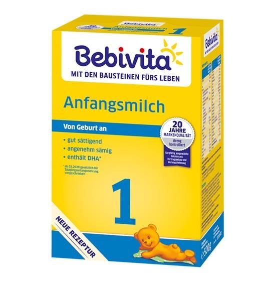 Bebivita Anfangsmilch 1 von Geburt an 500g