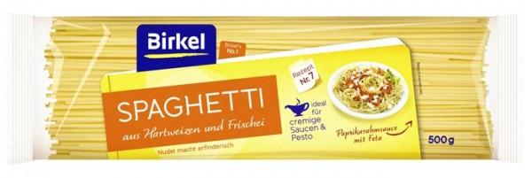 Birkel Spaghetti aus Hartweizen und Frischei 500g