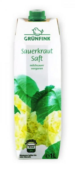 Grünfink Sauerkraut Saft 1L