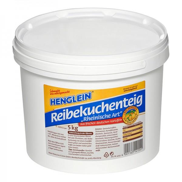 Henglein Reibekuchenteig Rheinische Art 5kg