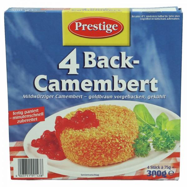 Prestige 4 Back-Camembert 300g