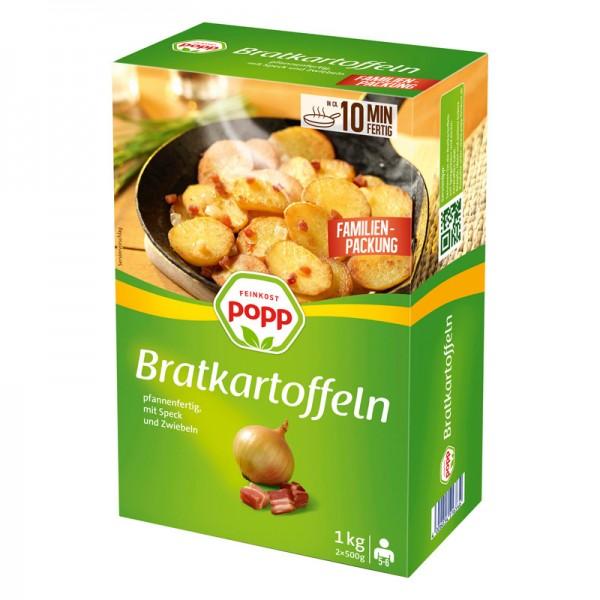 Popp Bratkartoffeln 1kg