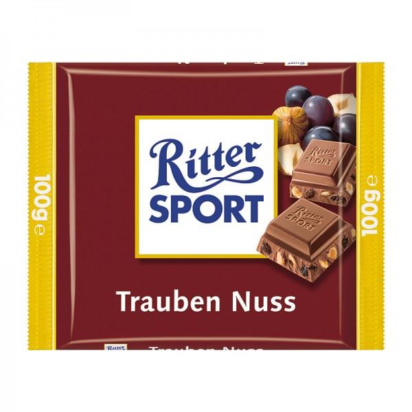 Ritter Sport Trauben-Nuss 5 Stück x 100g