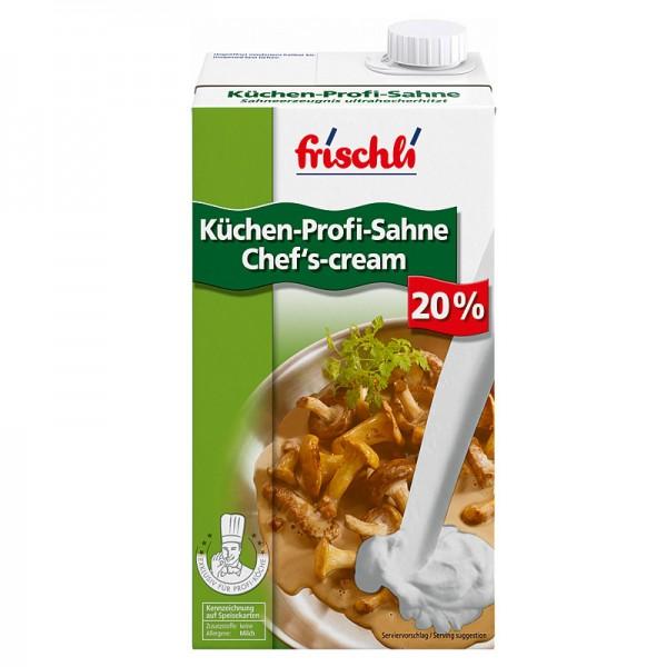 frischli Küchen-Profi-Sahne Chef's-cream 20% 1L