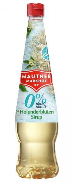 Mautner Markhof Holunderblüten Sirup mit 0% Zucker Zusatz