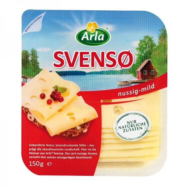 Arla Svenso Scheibenkäse nussig-mild 150g
