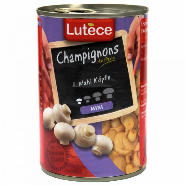 Lutèce Champignons Ganz Mini 1. Wahl 425ml