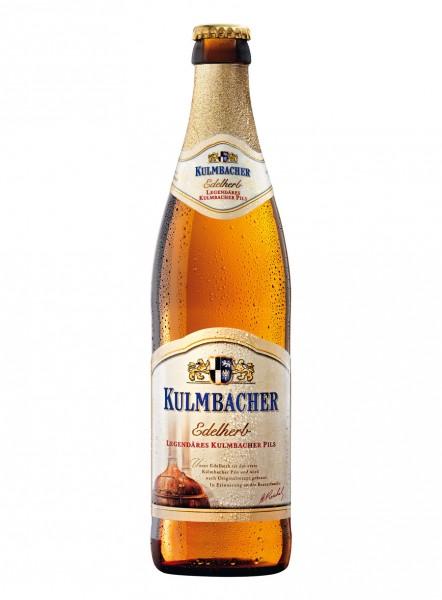 Kulmbacher Edelherb Bier als Einzelflasche 0,5l