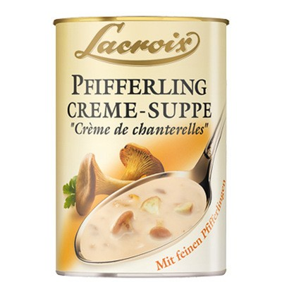 Lacroix Pfifferling Rahm Suppe 400ml