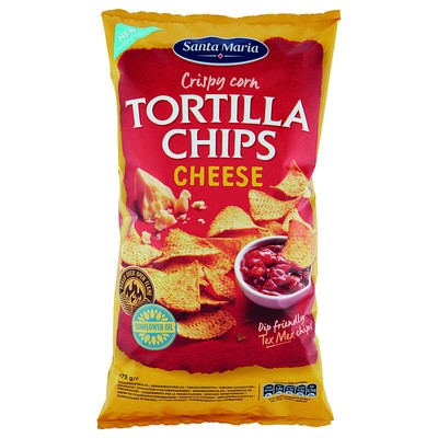Tortilla Chips Cheese 475g