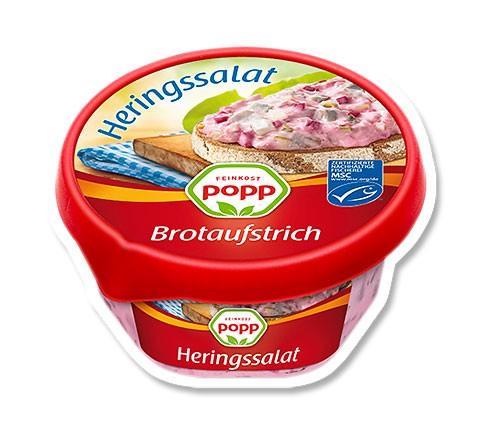 Popp Brotaufstrich Heringssalat 150g