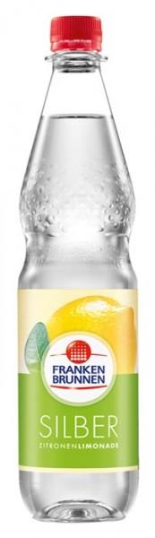 Franken Brunnen Silber Zitronen Limonade Einzelflasche 0,75L PET