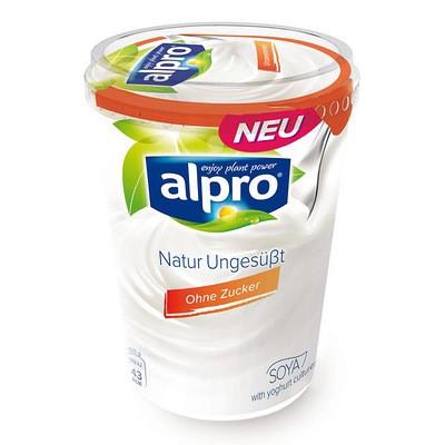 Alpro Soja Joghurtalternative Natur Ungesüßt 500g