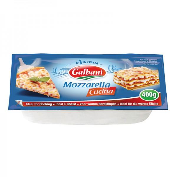 Galbani Mozzarella Cucina Ideal zum Kochen 48% 400g