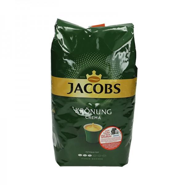 Jacobs Röstkaffee Crema ganze Bohnen 1kg